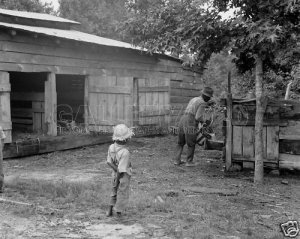 NEGRO BOY CHILD AFRICAN DOROTHEA LANGE PHOTO HISTORIC TENANT FARMER FARM GREAT DEPRESSION VINTAGE 39