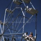 FERRIS WHEEL RIDE CARNIVAL FAIR PHOTO VINTAGE HISTORIC WORLD OF MIRTH FSA 1940S JACK DELANO
