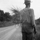 DEPRESSION NEGRO MAN OLD AFRICAN AMERICAN DOROTHEA LANGE PHOTO HISTORIC VINTAGE 1937 MS