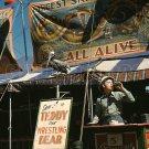 CARNIVAL FAIR VERMONT PHOTO VINTAGE 40S FREAK SHOW SIDE WORLD OF MIRTH BARKER HISTORIC