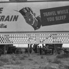 DOROTHEA LANGE MIGRANT VINTAGE UNION PACIFIC BILLBOARD HISTORIC HIGHWAY