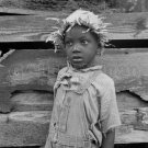 DOROTHEA LANGE PHOTO AFRICAN AMERICAN BOY NEGRO CHILD FARMER GREAT DEPRESSION 30S