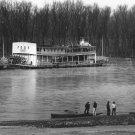 WALKER EVANS PHOTO OLD FERRY RIVER VINTAGE HISTORIC MISSISSIPPI MEN 1936
