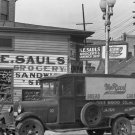 WALKER EVANS PHOTO NEW ORLEANS GROCERY STORE TRUCK SIGN