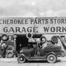 WALKER EVANS VINTAGE HISTORIC PHOTO AUTO GARAGE STORE ATLANTA 1935 CAR