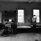 WALKER EVANS OLD CHURCH INTERIOR VINTAGE PIANO STAGE