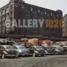 VINTAGE CAR US ARMY STATION CHICAGO DELANO PHOTO 40S