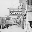 WALKER EVANS PHOTO VINTAGE NEW ORLEANS DOWNTOWN HISTORIC FRONT STREET LUZIANNE COFFEE SHOPS