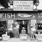 WALKER EVANS PHOTO FISH MARKET VINTAGE SHOP HISTORIC FRUIT 1930S