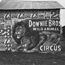 DOWNIE BROS CIRCUS WALKER EVANS POSTER PHOTO LION VINTAGE HISTORIC 1930s