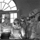 REAL ROSIE RIVETER WOMEN PHOTO VINTAGE WW2 WAR GOGGLE