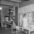 1924 NURSE MANNEQUIN DISPLAY PHOTO VINTAGE UNIFORM OLD
