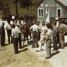 FARMERS TRADING MULES AND HORSES PHOTO VINTAGE MARION POST WOLCOTT MEN KENTUCKY JOCKEY STREET