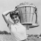 ITALIAN WOMAN PRETTY PHOTO VINTAGE DAY LABORER MARION POST WOLCOTT GIRL NJ