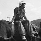 FARMER MAN PHOTO VINTAGE POST WOLCOTT HANDSOME SEXY HAT