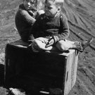 DEPRESSION CHILD CRATE PHOTO VINTAGE POST WOLCOTT 1939