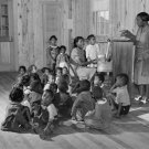 AFRICAN AMERICAN NEGRO CHILD PHOTO VINTAGE POST WOLCOTT