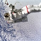 NASA ASTRONAUT SPACE SHUTTLE PHOTO PLANET EARTH EVA LEE