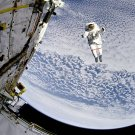 ASTRONAUT PLANET EARTH PHOTO SPACE SHUTTLE EVA NASA 94