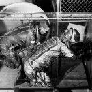 ASTRONAUT PHOTO AIRLOCK SPACE STATION NASA 1966 VINTAGE