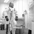 1975 DEKE SLAYTON SPACESUIT PHOTO NASA VINTAGE APOLLO