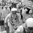 1965 GEMINI 5 CREW PHOTO LAUNCH PAD ASTRONAUT VINTAGE