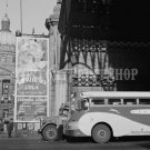 1943 VINTAGE GREYHOUND BUS INDIANPOLIS INDIANA PHOTO IN