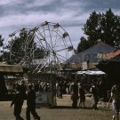 CARNIVAL FERRIS WHEEL CAROUSEL MIDWAY VINTAGE PHOTO 40S