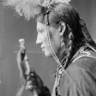 NATIVE AMERICAN PHOTO AMOS LITTLE SIOUX INDIAN 1900 OLD