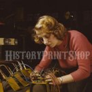1943 WOMEN OF WORLD WAR 2 WORKER PHOTO REAL ROSIE THE RIVETER WWII AIR FORCE