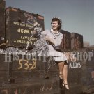 1942 WOMAN WAR WORKER PHOTO ROSIE THE RIVETER WWII AIRCRAFT