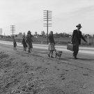 DOROTHEA LANGE PHOTO MIGRANT US HIGHWAY 99 VINTAGE 1939