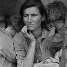 MIGRANT MOTHER FAMOUS DEPRESSION VINTAGE PHOTO DOROTHEA LANGE