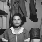 1943 VINTAGE MAID PHOTO WOMAN GREYHOUND PORTRAIT RETRO
