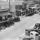 WALKER EVANS PHOTO OLD TOWN SHOPS STORE VINTAGE CAR TRUCK CITY HALE COUNTY ALABAMA VINTAGE HISTORIC