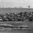 WALKER EVANS PHOTO AUTO OLD JUNKYARD DUMP VINTAGE CAR