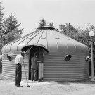 DIAMAXION HOUSE PHOTO VINTAGE CORN BIN KANSAS CITY 1941