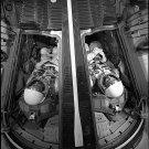 1965 GEMINI MCDIVITT WHITE PHOTO SPACECRAFT ASTRONAUT