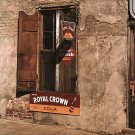 RC ROYAL CROWN COLA ORANGE CRUSH HISTORIC PHOTO VINTAGE CAFE WINDOW MARION POST WOLCOTT