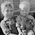 DEPRESSION CHILD CHILDREN HISTORIC PHOTO VINTAGE MARION POST WOLCOTT BOY CUTE