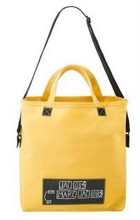 Marc by Marc Jacobs North South Tote Bag Yellow