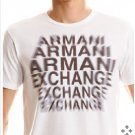 ARMANI EXCHANGE Echo White T Shirt size Medium