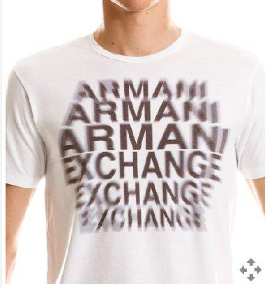 ARMANI EXCHANGE Echo White T Shirt size Large