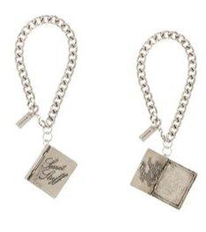 Marc Jacobs Antique Silver Box Secret Stuff Bracelet