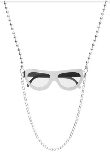 Marc by Marc Jacobs Sunglasses Necklace Silver