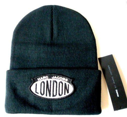 MARC JACOBS Acrylic Ski Winter Hat Skully Beanie Hat LONDON
