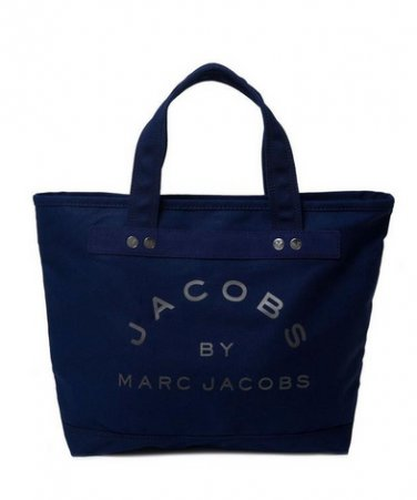 Marc by Marc Jacobs Small Canvas tote bag in Navy / Gunmetal