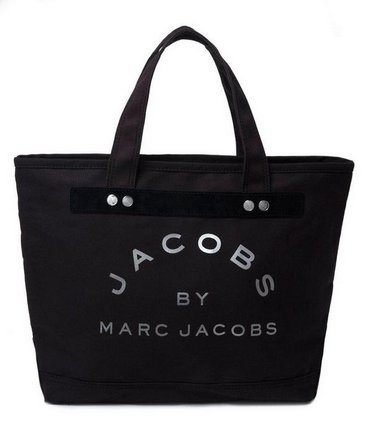 Marc by Marc Jacobs Small Canvas tote bag in Black / Silver