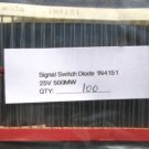 100- 1N4151 Small Signal(Switch)Diode 25V 500mW 1N 4151