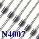 50 X 1N4007 Rectifier Diode  1000V 1A (IN4007 1N 4007)